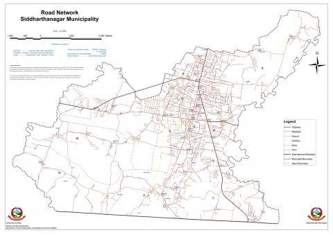 Road_Network_siddharthanagar_municipality