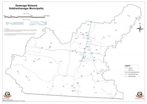 Sewerage Network siddharthanaga municipality