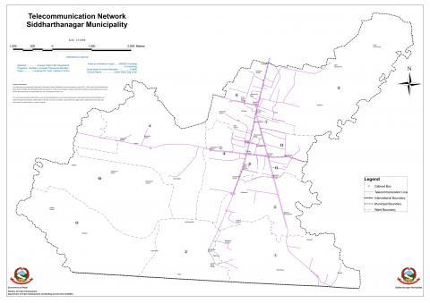 Telecommunication Network Siddharthanagar Municipality